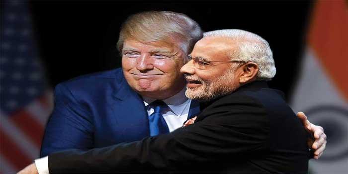 trump on india