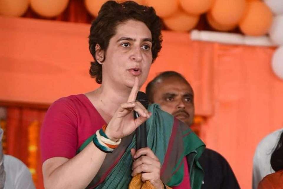 Priyanka Gandhi mayawati