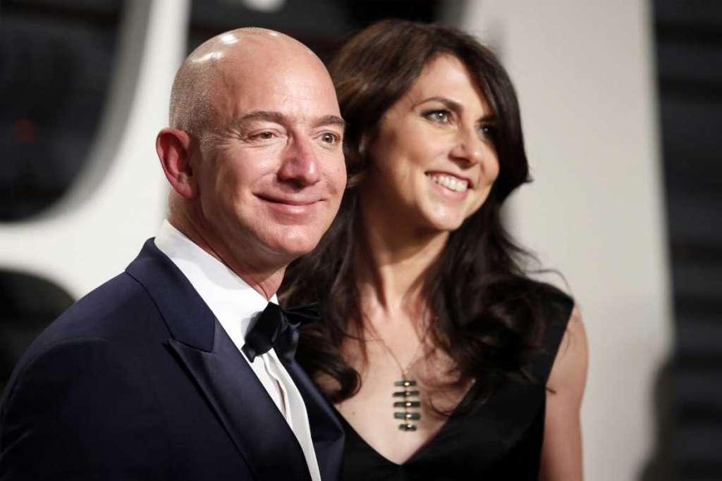 Amazon's founder and CEO Jeff Bezos