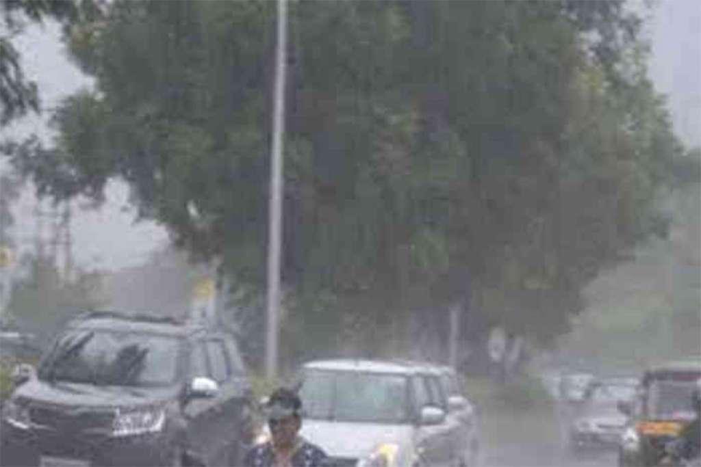 new delhi rain