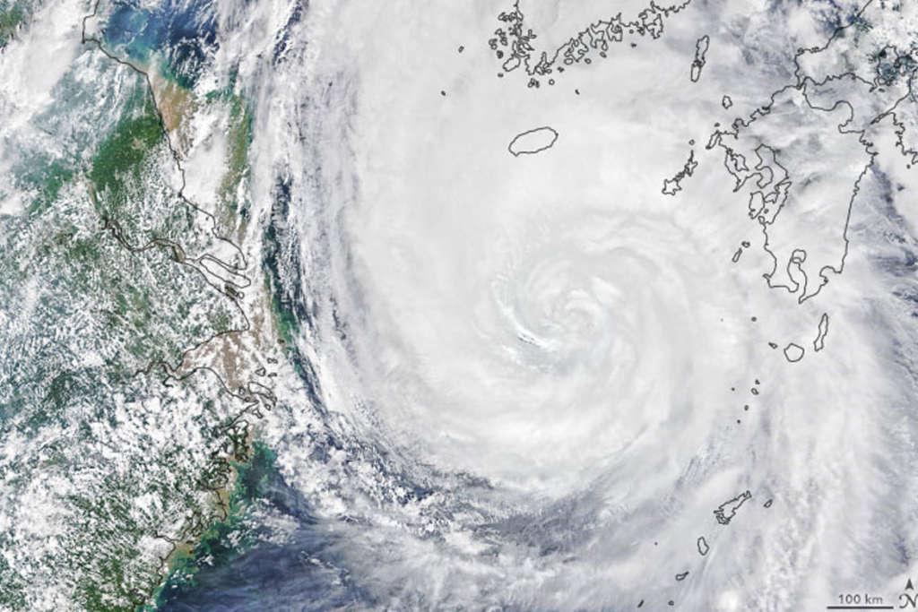 Maysak Typhoon